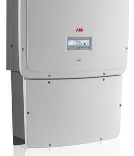 Inverter ABB TRIO-20.0/27.6-TL-OUTD (20 to 27.6 kW)