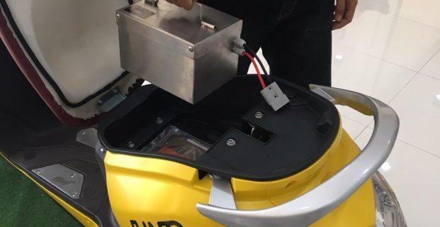 มอเตอร์ไซค์ไฟฟ้า กับขุมพลังแบตเตอรี่ลิเทียม