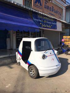รถยนต์ไฟฟ้า Hopster